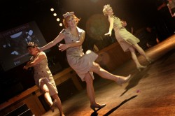 theme up your hen party with vintage dance style