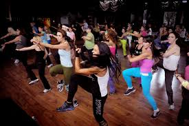 Zumba for a high energy hen party